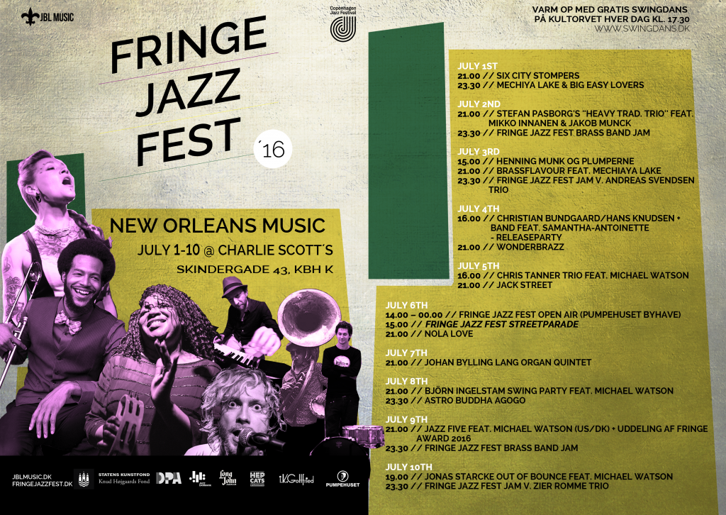Fringe Jazz Fest January 2016